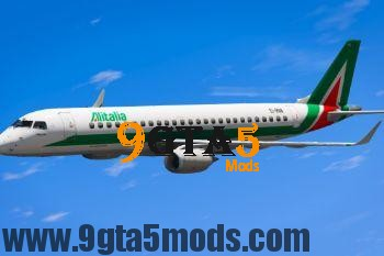 Embraer E Jets 190 [Replace] 3.0 GTA 5 Vehicles 2