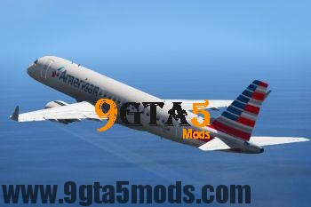 Embraer E Jets 190 [Replace] 3.0 GTA 5 Vehicles 3