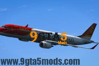 Embraer E Jets 190 [Replace] 3.0 GTA 5 Vehicles 4