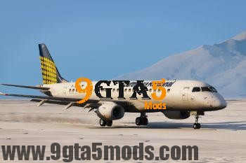 Embraer E Jets 190 [Replace] 3.0 GTA 5 Vehicles 5