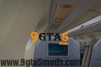 Embraer E Jets 190 [Replace] 3.0 GTA 5 Vehicles 9