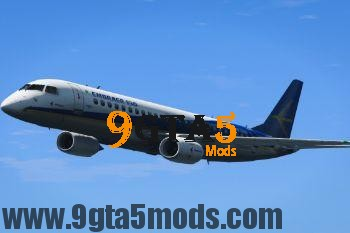 Embraer E Jets 190 [Replace] 3.0 GTA 5 Vehicles