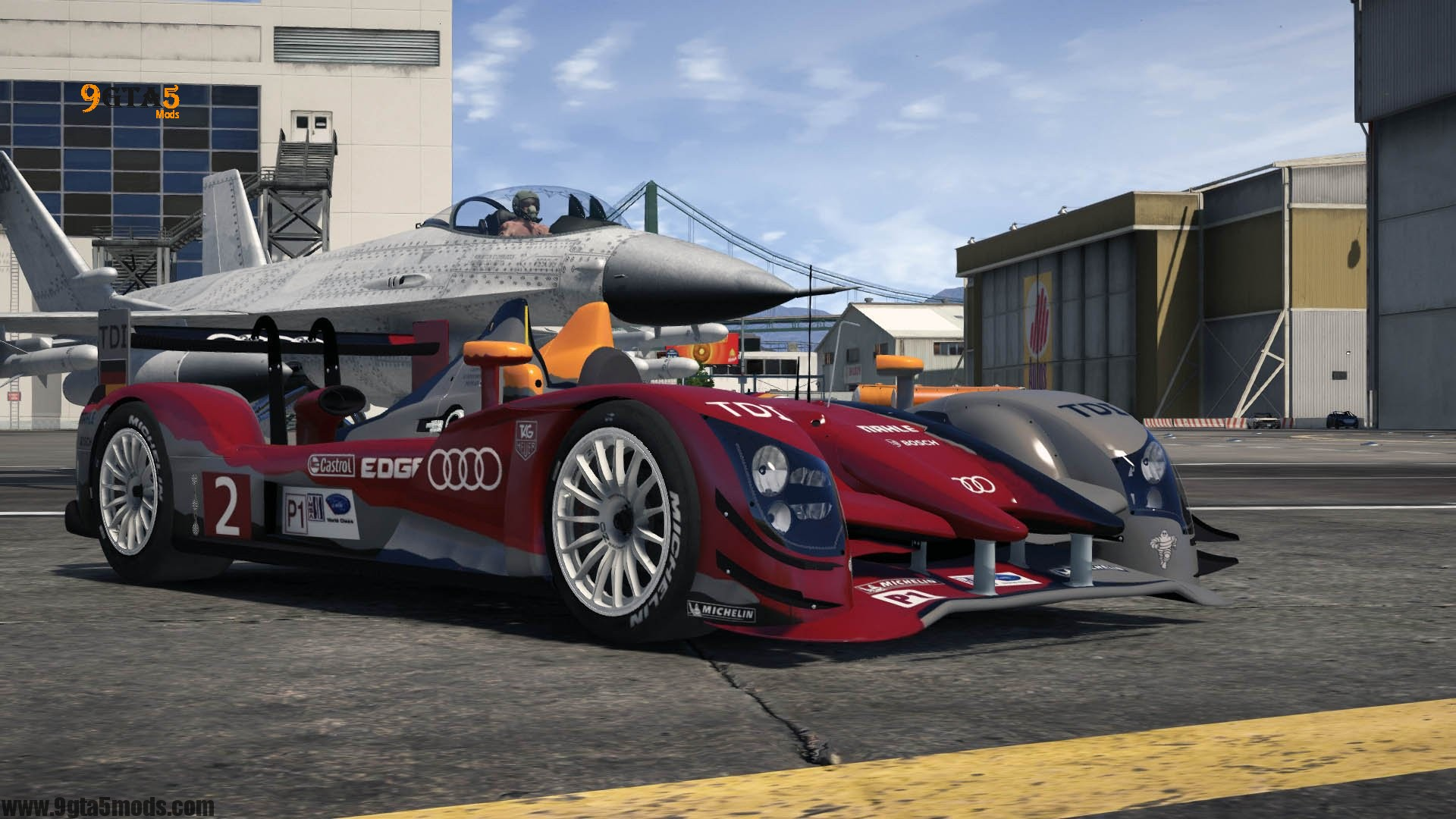2011 Audi #2 Audi Sport Team Joest R15++ TDI | GTA 5 Vehicles 6