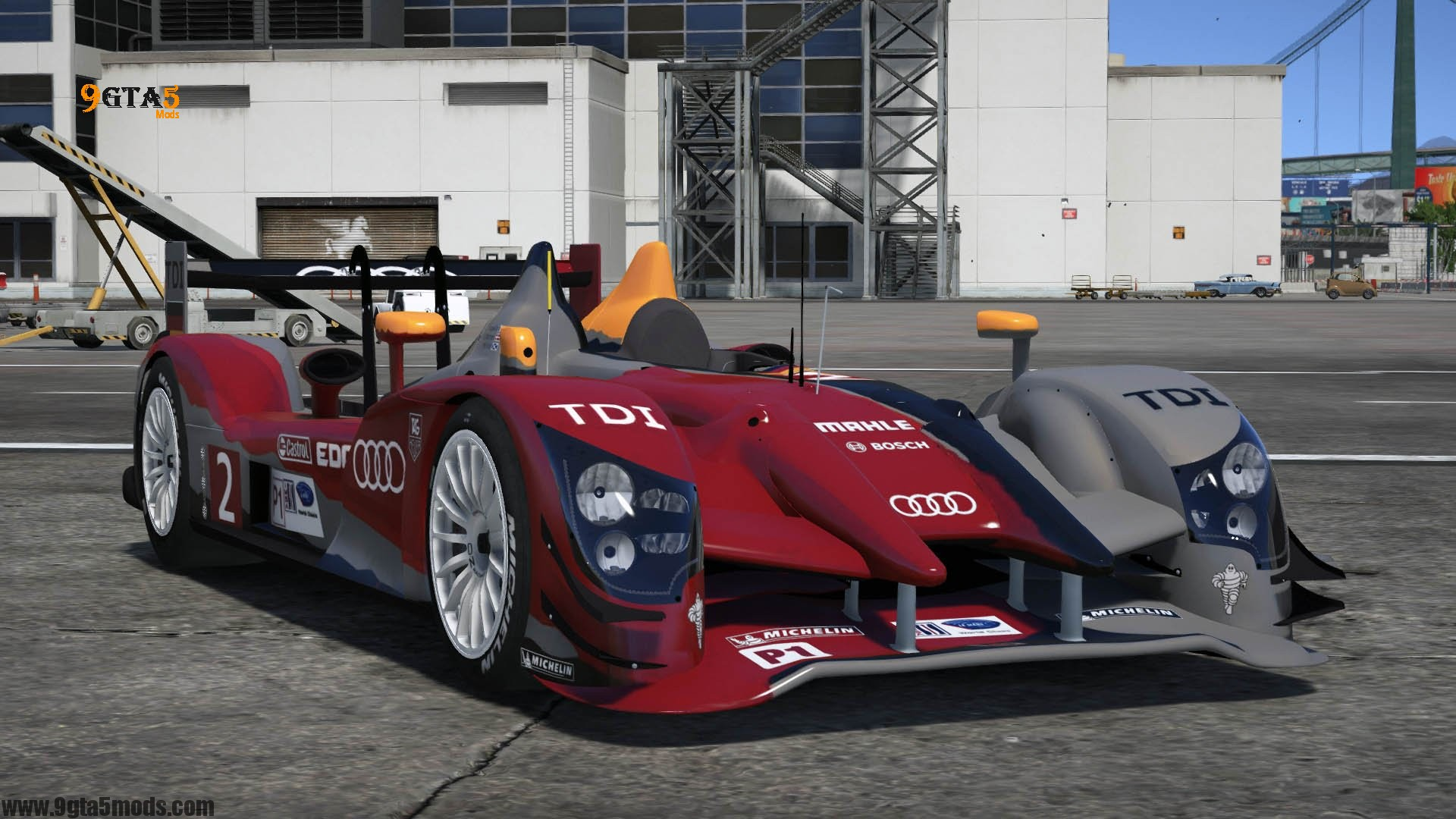 2011 Audi #2 Audi Sport Team Joest R15++ TDI | GTA 5 Vehicles