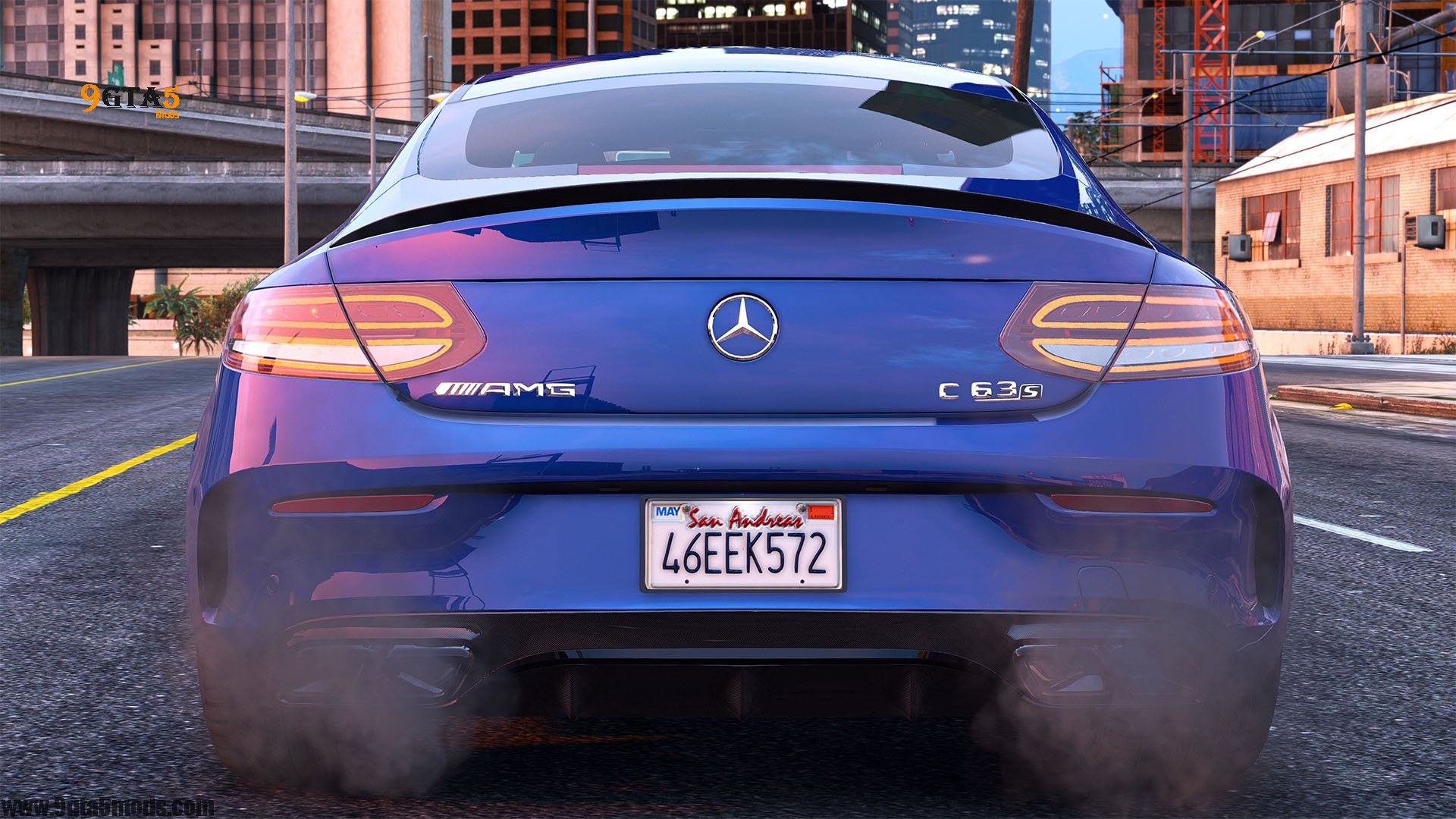 Download 2016 Mercedes C63 AMG S Coupe | GTA 5 Vehicles 11