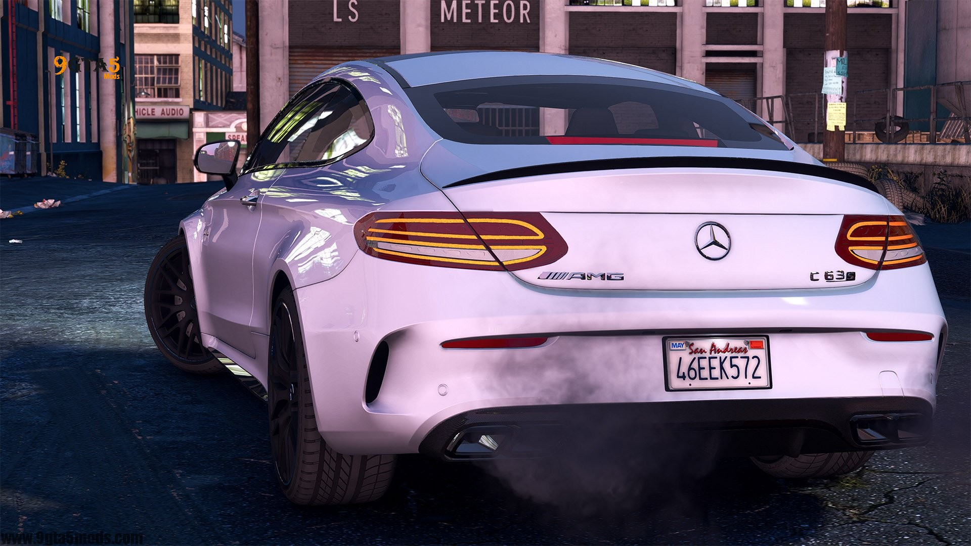 Download 2016 Mercedes C63 AMG S Coupe | GTA 5 Vehicles 4