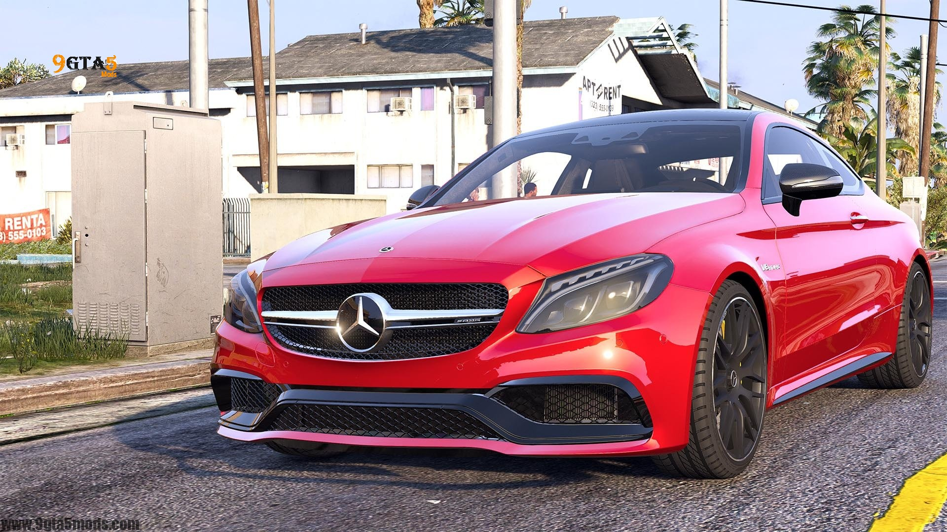 Download 2016 Mercedes C63 AMG S Coupe | GTA 5 Vehicles
