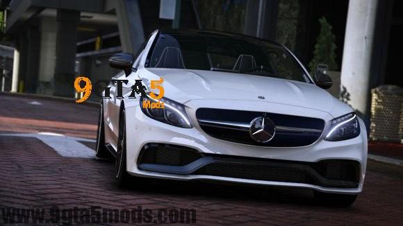 Mercedes Benz AMG C 63 S Coupe 2016 | GTA 5 Vehicles