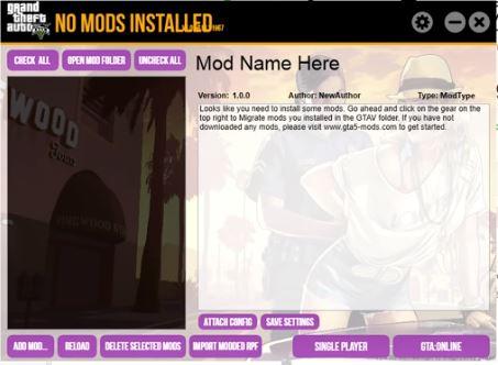 Gta V mod manager - Features of GTA 5 Mod Manager PC - 9GtaMods com