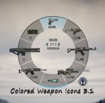 Gta 5 Colored Weapon Icons version 3.1