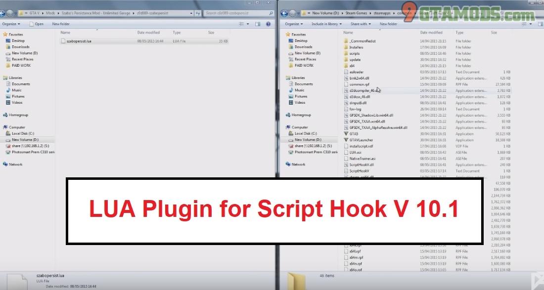 Image Of Script Hook V Script Hook V Native Trainer