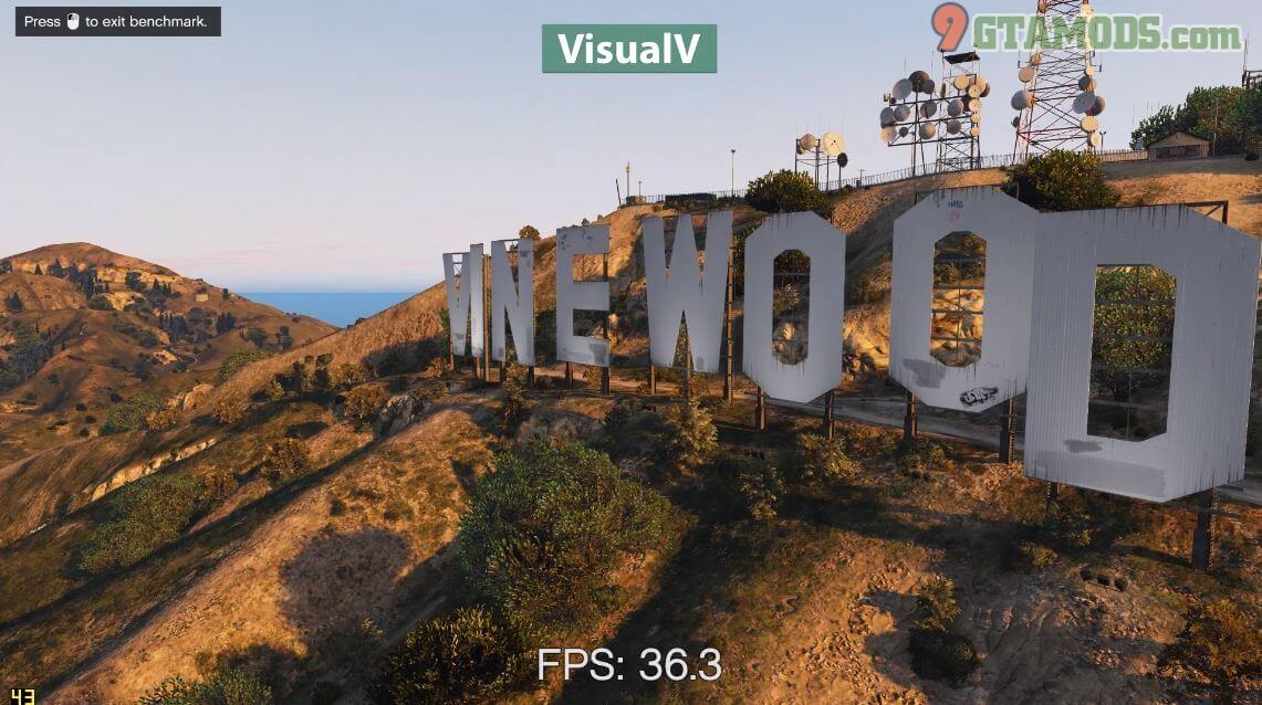 GTA V Mod VisualV - Mod graphic gta 5 - 9GtaMods com