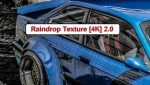 Raindrop Texture 4k mod for GTA V – Paint Jobs