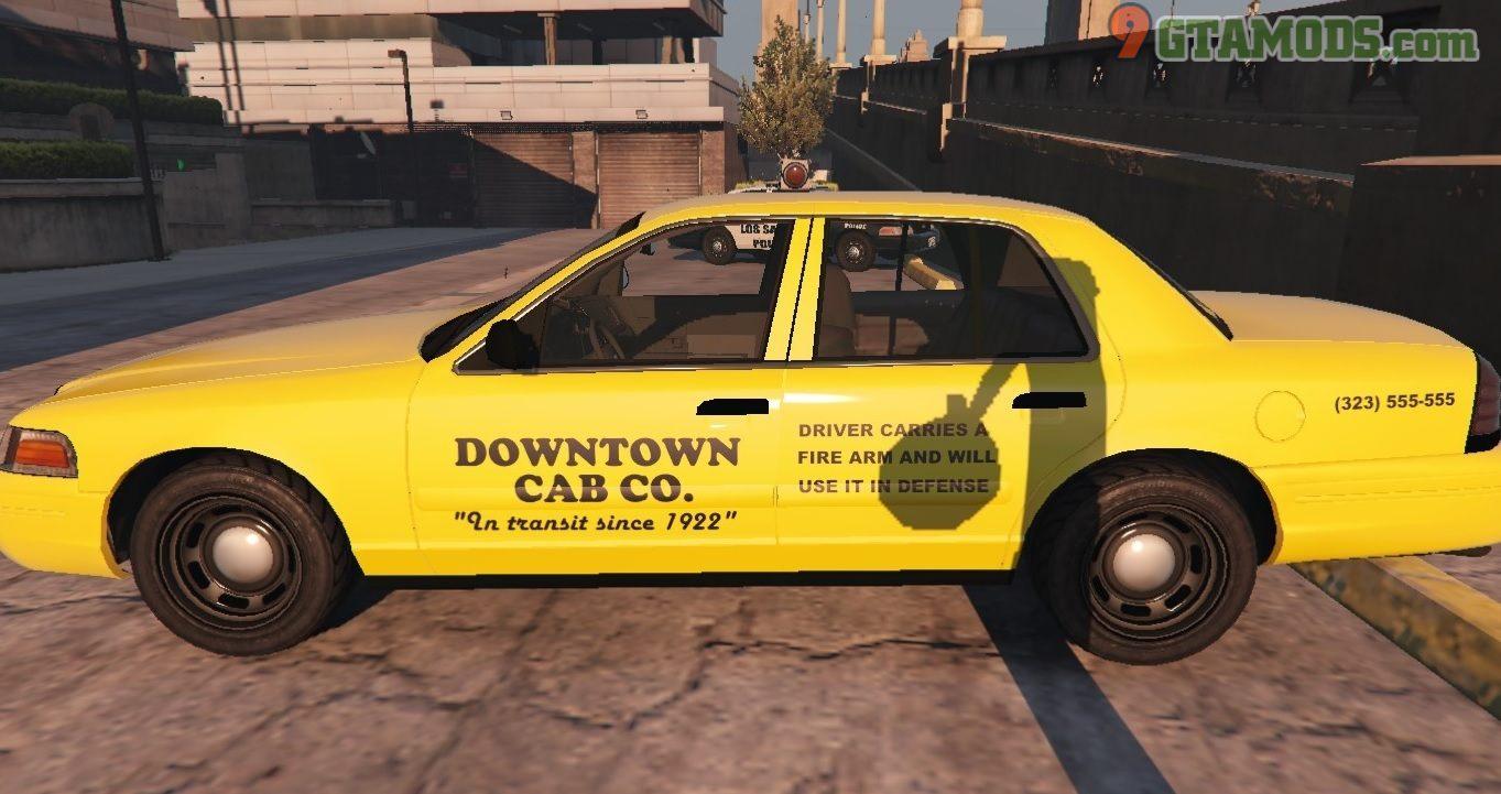 Los Santos Ford Crown Victoria Taxi Texture - 2